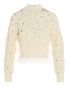 Embellished Knitted Jumper