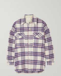 Faxonli Checked Wool-blend Jacket