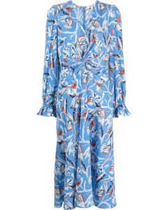 褶皱短连衣裙