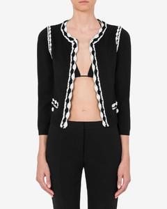 配腰带棉质混纺府绸中长连衣裙