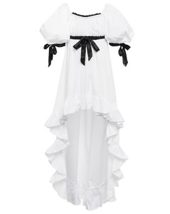 黃色The Maxi Slip連衣裙