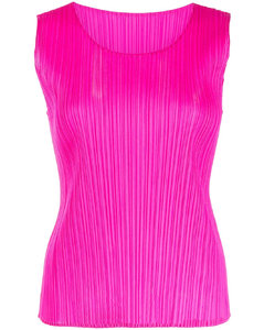 Bokissa gored-panel leather midi skirt