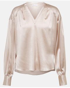 Polka Dot-Print Tie-Detail Dress
