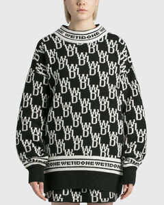 All Over Logo Sweater