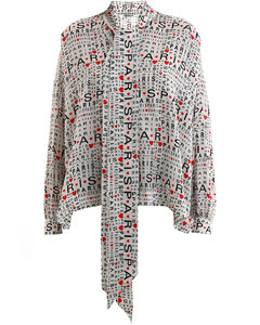 Silk Shirt Bonjour Paris