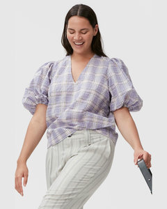 Mylah Puffer Jacket - Cream
