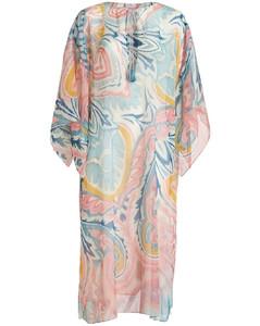 荷叶边叠层半身裙