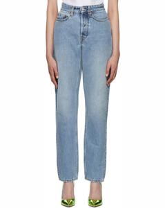 Pleated checked linen midi skirt