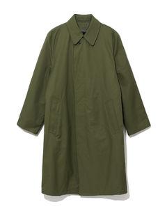Straight blouson coat