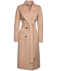 Emma Double Wool Double Breasted Coat