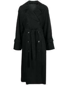 water repellent oversized trench coat