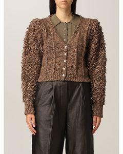 Meseud Camel Suede Shirt