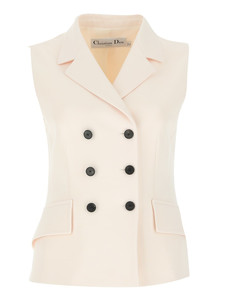 Double-Breasted Vest Jacket