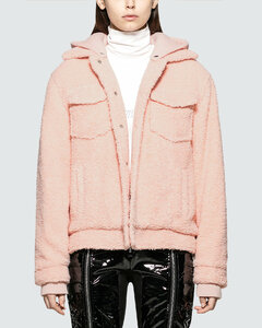 Sherpa Jacket With Removeable Hood