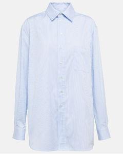條紋金屬感連衣裙