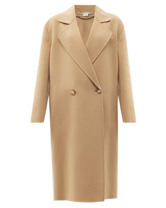 Ericka double-breasted wool coat