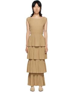 黄褐色Aramon连衣裙