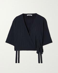 STRIPED COTTON T-SHIRT DRESS