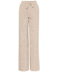 高腰直筒运动裤