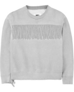 Fringe Pullover Sweater - Grey