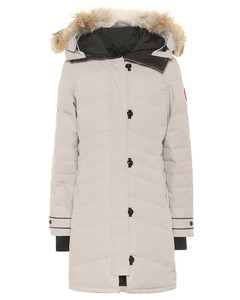 Lorette fur-trimmed down parka