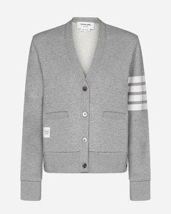 4-Bar cotton cardigan