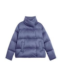Quilted Satin Ofelia Coat