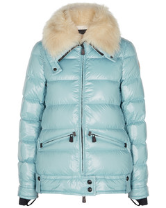 Grenoble Arabba blue quilted shell jacket