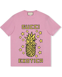 Exotica pineapple-print T-shirt