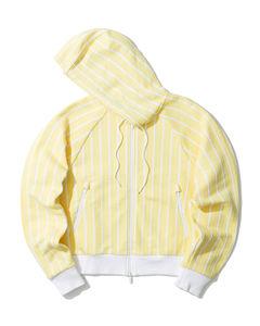 Pinstripes zip jacket