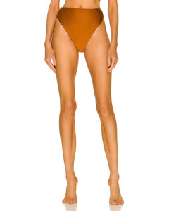 High-rise cropped trousers