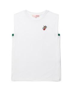 Geneta beaded floral-print silk maxi dress