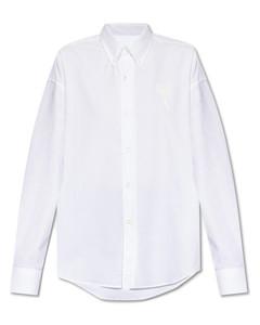 Asa Shirred Cotton-poplin Mini Dress