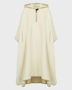 Eowyn Virgin Wool-Blend Poncho