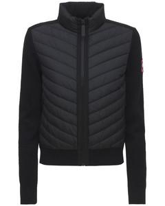 Hybridge Wool Knit Down Jacket