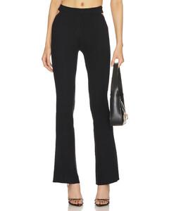 Aila Down ski jacket in Black