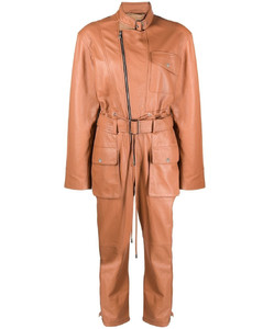 Tricolor fox-patch cotton hoodie
