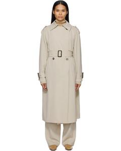灰白色Yeli大衣