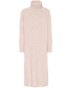 Musa wool and cashmere midi dress