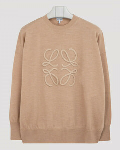 Beige Anagram sweater