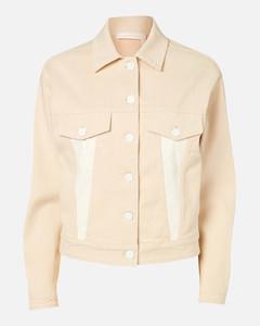 Women's Denim Jacket - Multicolour White