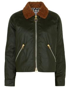 Floyd dark green waxed cotton jacket