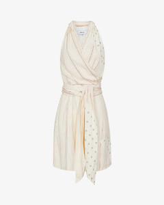 Beth patchwork-print crepe mini dress