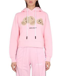 Calvi pink wool-blend trousers