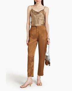 红色Crew裹身连衣裙
