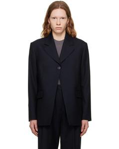 Braided-trim tweed jacket