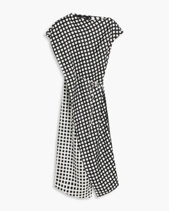 Carina Quilted jacket in Navy blue