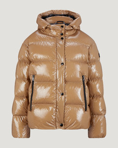 Evelia Down jacket in Caramel