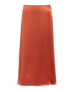 高腰幾何百褶半身裙