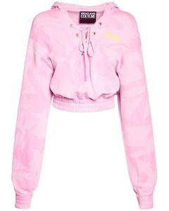 Lady Light Fleece Crop Sweatshirt Hoodie